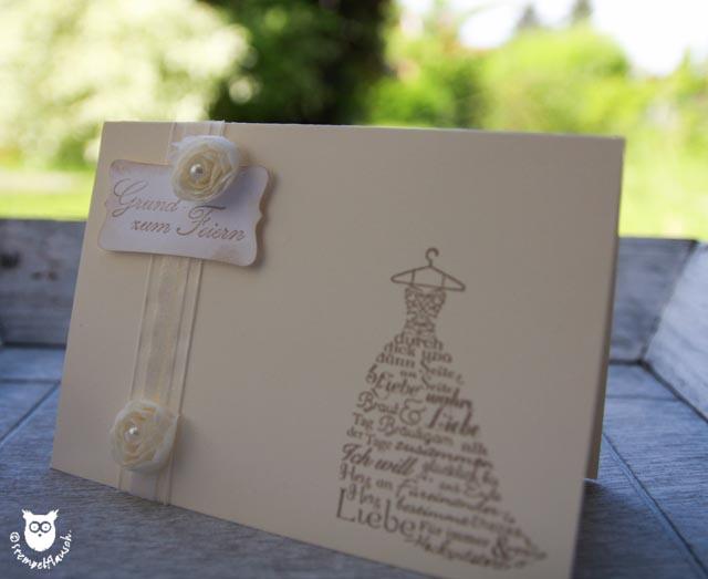 Glückwunschkarten Hochzeit Selber Machen Kostenlos : hochzeitsharmonie stempelflausch ~ Watch28wear.com Haus und Dekorationen
