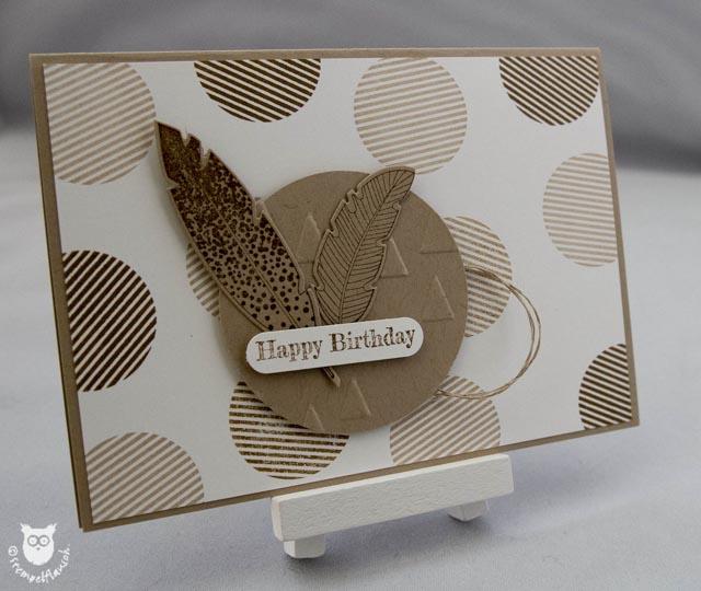 Geburtstagskarte mit hello darling stempelflausch for Pinterest geburtstagskarte