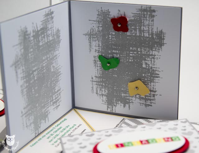 einladung zum kindergeburtstag | stempelflausch, Einladungsentwurf